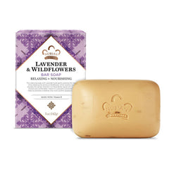 Nubian Heritage Bar Soap Shea Butter with Lavender & Wildflowers -- 5 oz