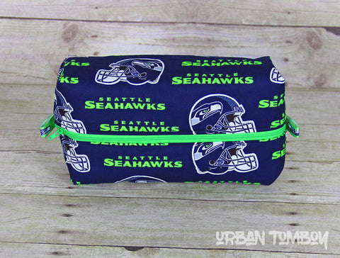 Seahawks Boxy Travel Bag