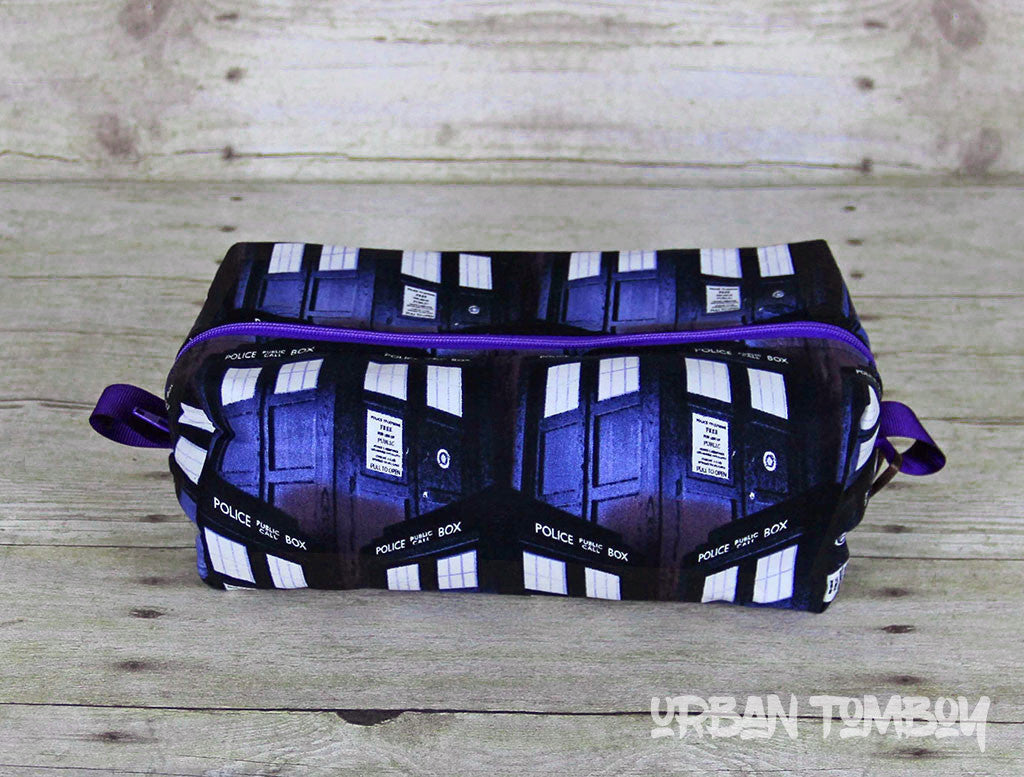 Doctor Who Tardis Boxy Travel Bag