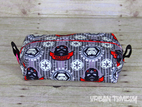 Galactic Empire Glow Boxy Travel Bag