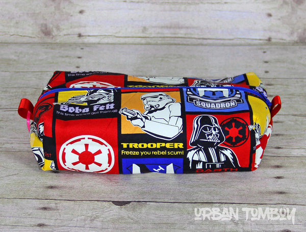 Star Wars Primary Glow Boxy Travel Bag