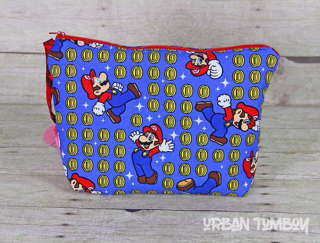 Super Mario Brothers Tall Travel Bag