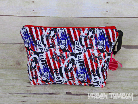 Captain America Tall Travel Bag