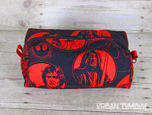 Star Wars Vintage Hero Boxy Travel Bag