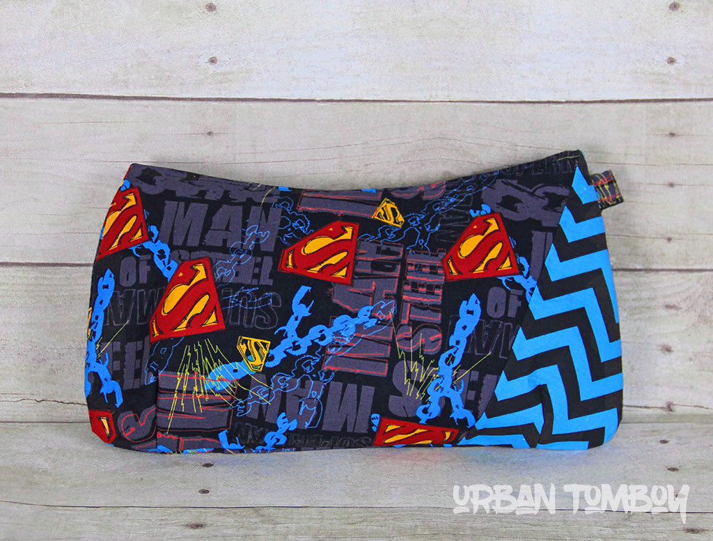 Superman Clutch/Wristlet Bag