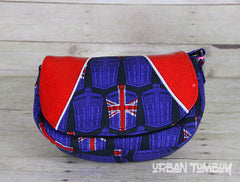 Union Jack Tardis Crossbody Bag