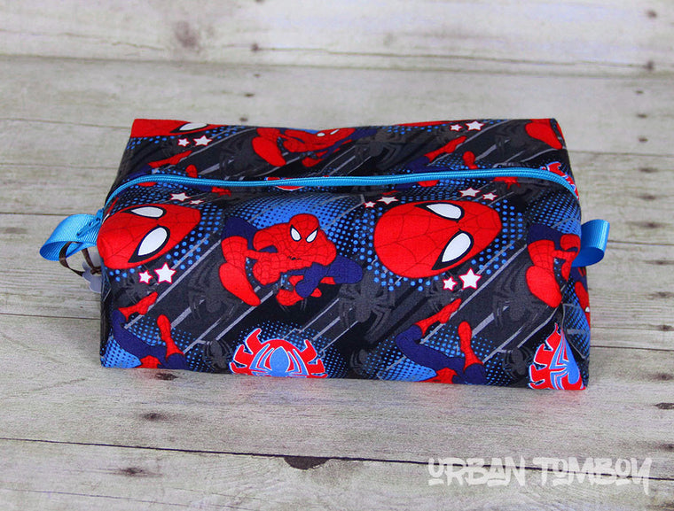 Spider-man Boxy Travel Bag