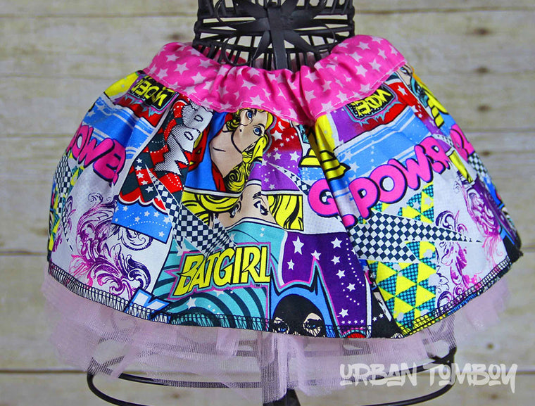 Supergirls Baby Skirt & Tutu Set