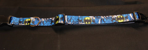 Batman Dog Collar with vintage logo