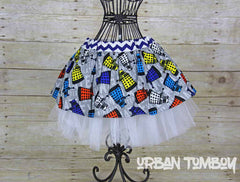 Copy of Doctor Who Dalek Skirt and Tutu Set