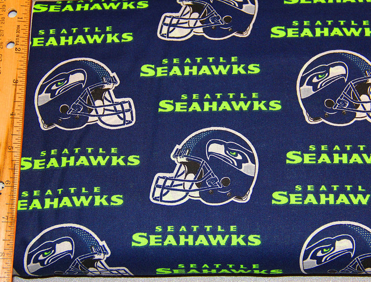 Seahawks Cotton Fabric