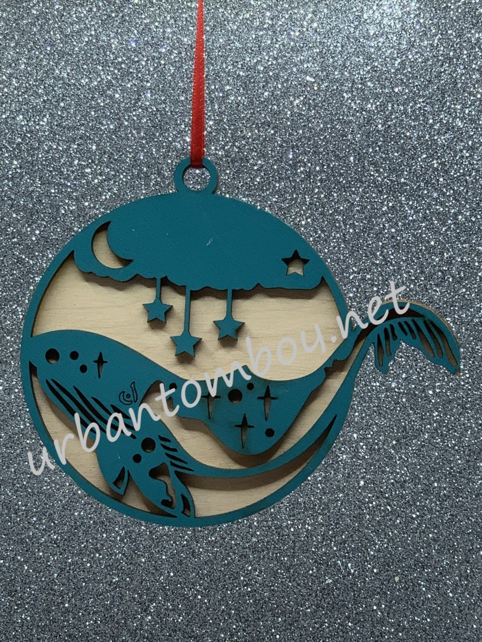 Humpback ornament