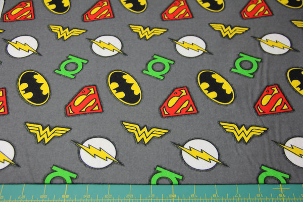 DC Comics Hero Badge Toss FLANNEL
