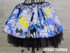 Batman Bricks Skirt & Tutu Set