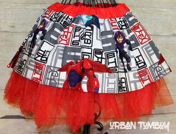 Big Hero 6 Skirt & Tutu Set