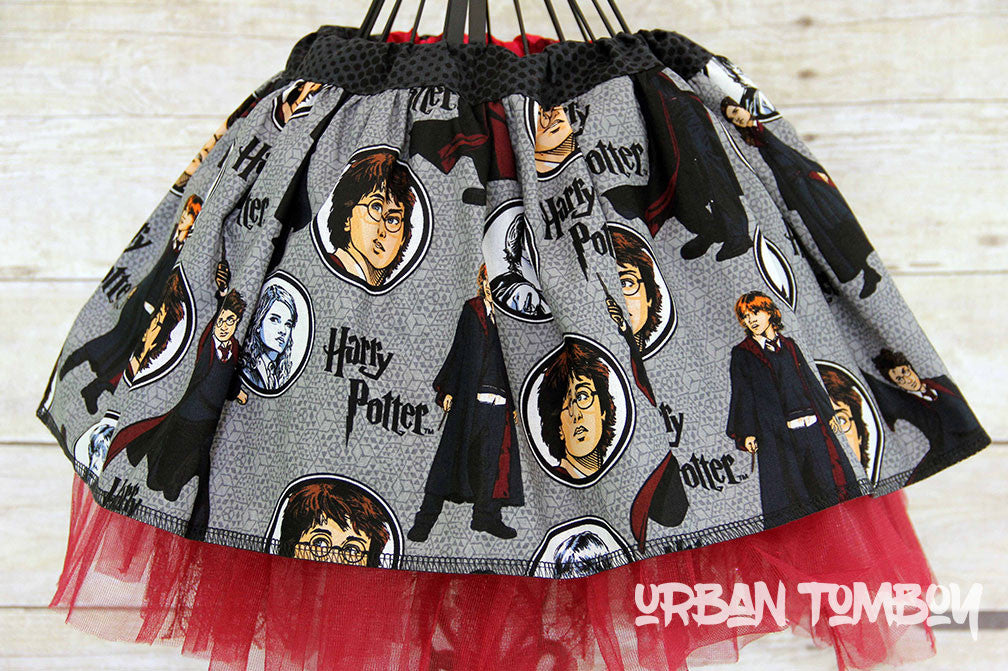 Harry Potter Faces Skirt & Tutu Set