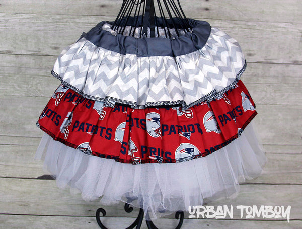 NFL Patriots Skirt & Tutu Set
