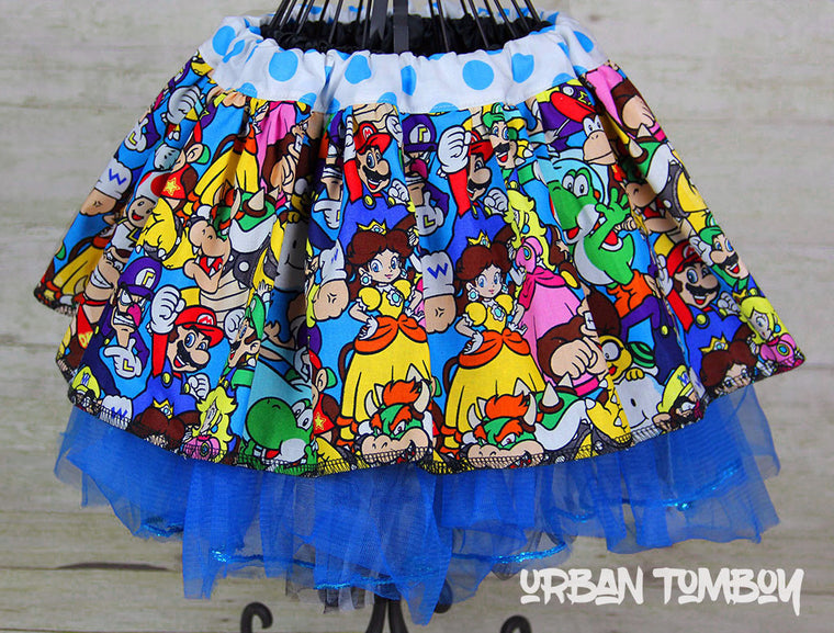 Nintendo Family Skirt & Tutu Set