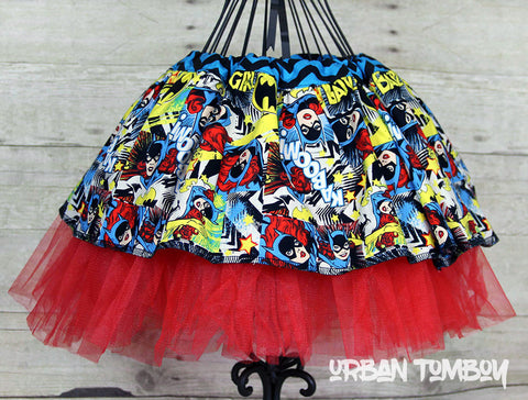 Batgirl Skirt & Tutu Set