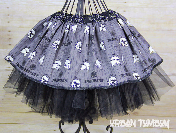 Star Wars Force Awakens Stormtrooper Helmet Variations Skirt & Tutu Set