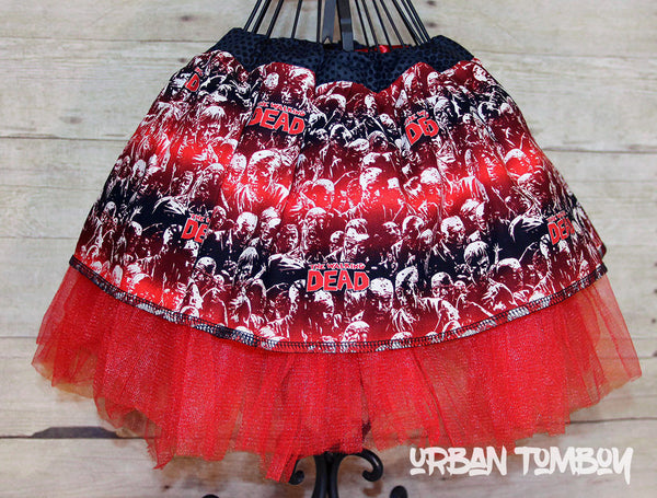 The Walking Dead Skirt & Tutu Set
