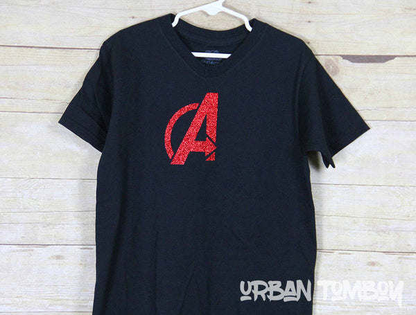 Avengers Logo Short Sleeve T-Shirt