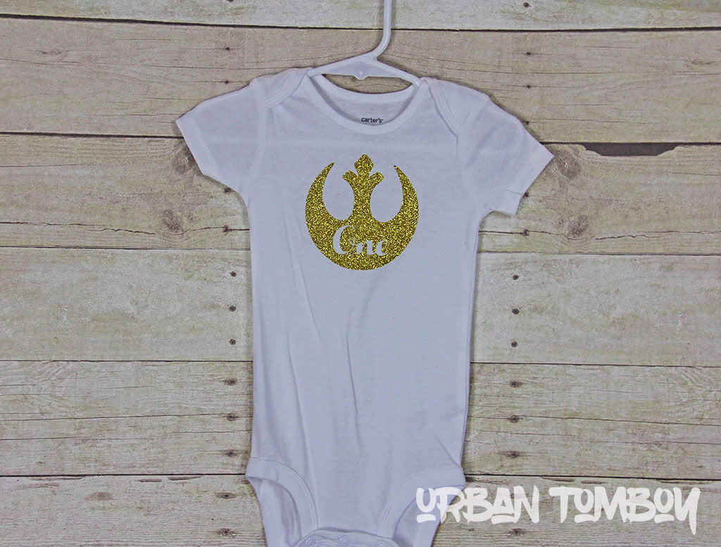 Star Wars First Birthday Bodysuit