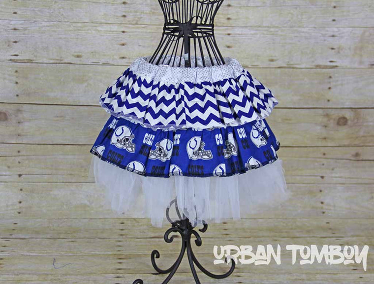 NFL Colts Skirt and Tutu Set