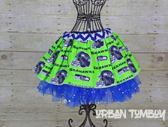 NFL Seahawks Lime Skirt & Tutu set