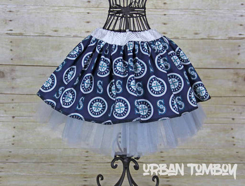 Seattle Mariners Skirt & Tutu set