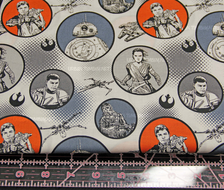 Star Wars The Force Awakens fabric