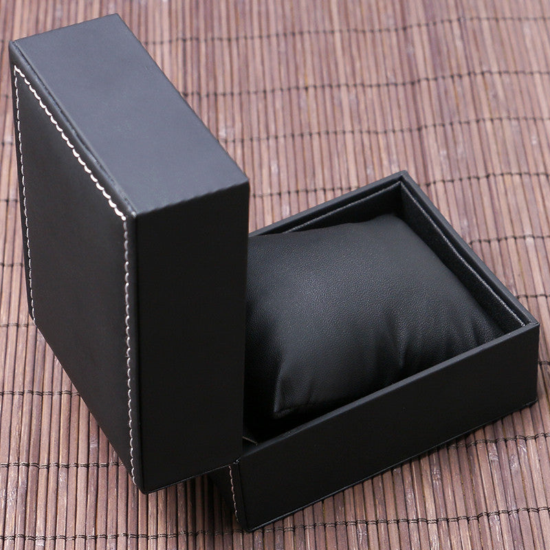Leatherette Black Box