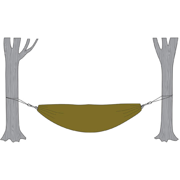 Snugpak Hammock Cocoon with Travelsoft Filling - Olive