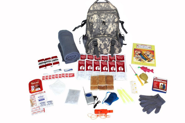 Survival Kit for Children - CAMO Backpack