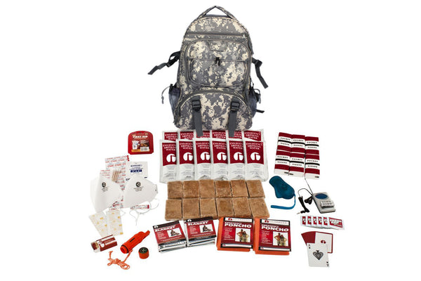 Person Survival Kit - CAMO Backpack