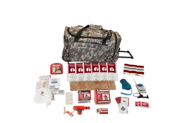 Basic Survival Kit - CAMO Wheel Bag