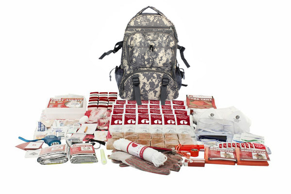 2 Person Elite Survival Kit - CAMO Backpack