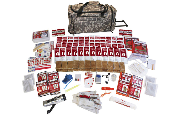 4 Person Elite Survival Kit - CAMO