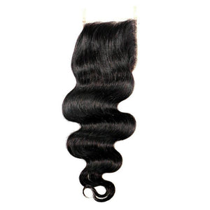 RAW INDIAN BODY WAVE LACE CLOSURES
