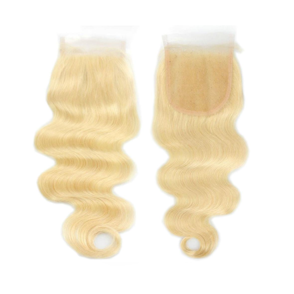 INDIAN BLONDE BODY WAVE CLOSURES
