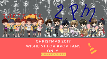 10 Christmas Gift Ideas That Are Gonna Make Any Kpop Lover Says
