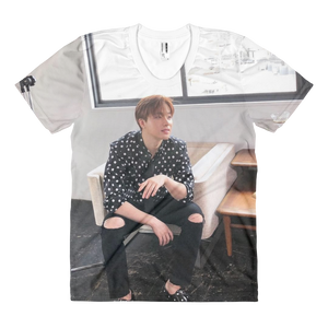 iKON Jinhwan Handsome Eldest Hyung Women Full Print T-Shirt