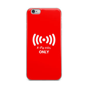 K-Pop Vibes Only iPhone Case