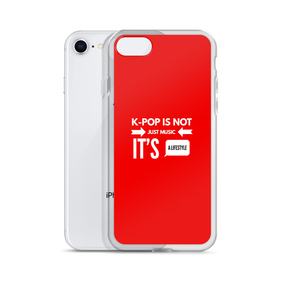 K-Pop is Not Just Music It's a Lifestyle iPhone Case