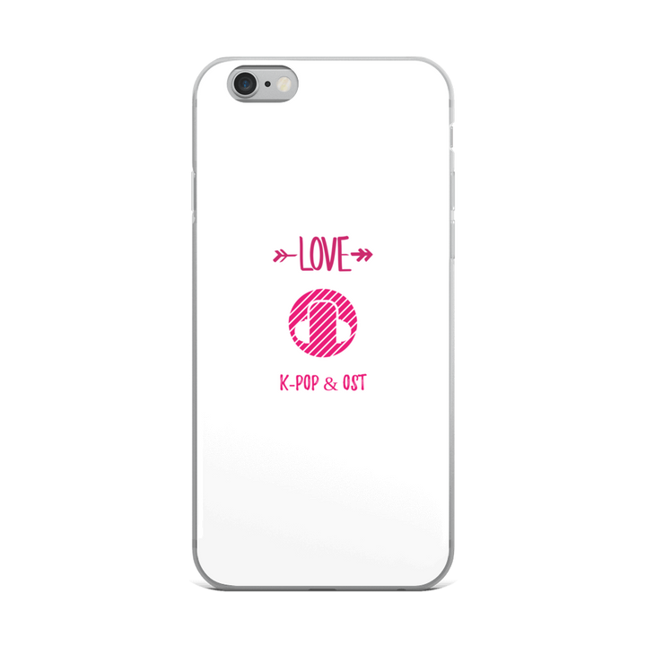 I Love K-Pop & OST iPhone Case