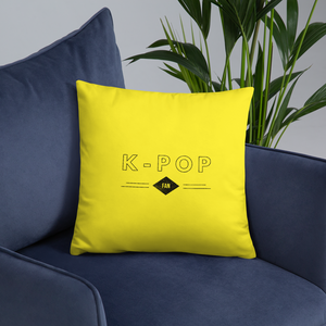 K-Pop Fan Throw Pillow