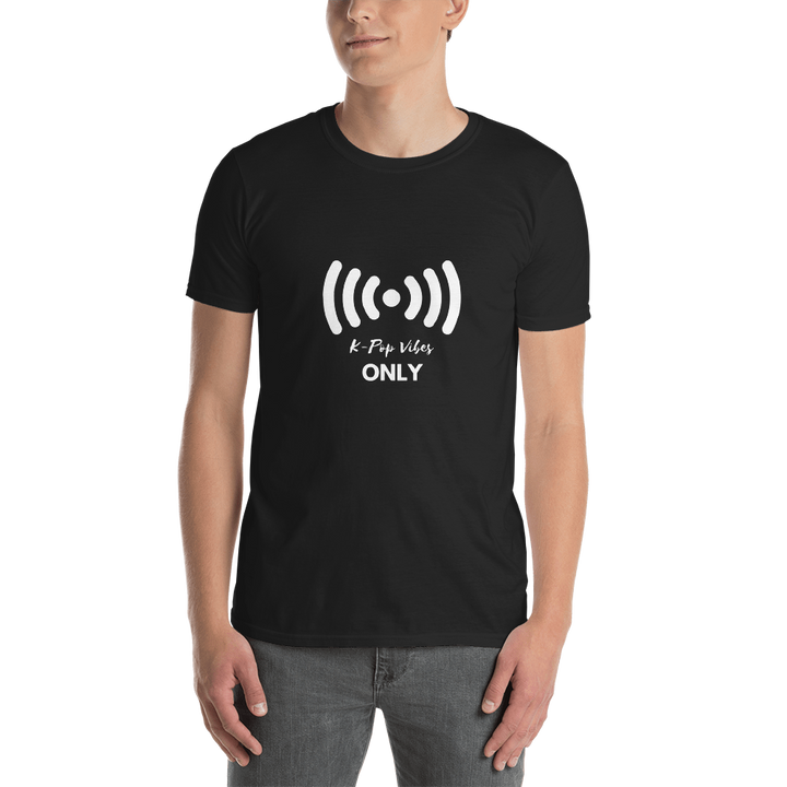 K-Pop Vibes Only Unisex Short Sleeve T-shirt