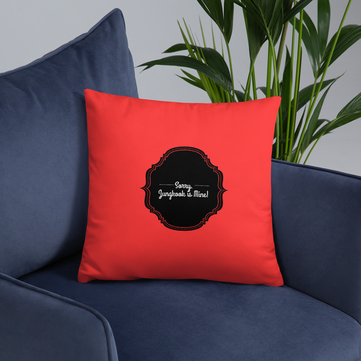 Sorry. Jungkook is Mine! Throw Pillow