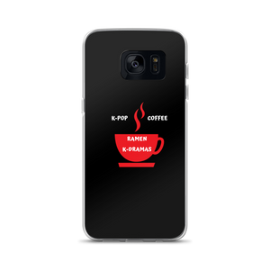 K-Pop Coffee Ramen K-Dramas Samsung Galaxy Case