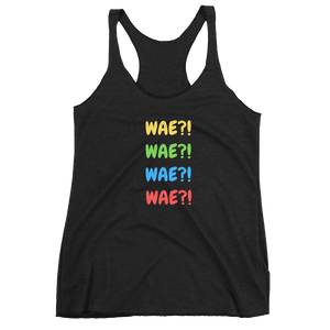 Wae! Wae! Wae! Wae! Women Tank Top